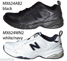 Men's NEW BALANCE MX624 V2 Cross Training Sneakers WN2 & AB2 - All Widths Walker