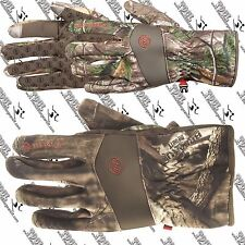 MANZELLA MENS H165M WHITETAIL TOUCHTIP SOFTSHELL CAMO BOW HUNTING GLOVE