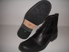 TIMBERLANDEARTHKEEPERS 6 INCH ZIP BOOT BLACK LEATHER 19560