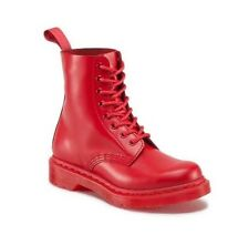 NEW IN BOX WOMENS US 7 8 10 DR. MARTENS PASCAL ANKLE BOOTS POPPY RED 8 EYE