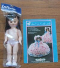 FIBRE CRAFT CROCHET DOLL PATTERNS, 10 yrs +