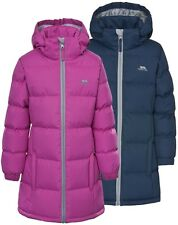 Girls Trespass Tiffy Puffa Padded Quilted School Coat | Jacket
