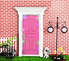 Secret Fairy Door with LED Light Wall Garden Home Decoration Toy Collection