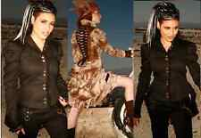 Lip Service Step In Time Lace Up Jacket Steampunk Victorian Burning Man Gothic