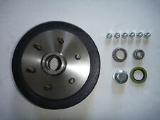 "BRAKE DRUM 9"" LANDCRUISER 6 STUD  WITH BEARING KIT! Trailer Parts"