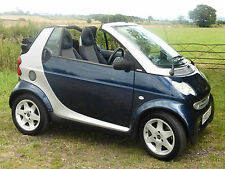 Smart Car Pulse for two CONVERTIBLE automatic, 98k MOT March 16, £25 a year Tax