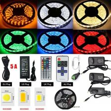 5m 10m 15m 20m 3528 5050 SMD RGB LED Waterproof Flexible Light Strip Roll 12V