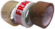 ALL TAPES - Clear Brown Masking Fragile Gaffer Gaffa Parcel Packaging Tapes