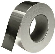 2 X ALUMINIUM TAPE *50mm x 45M LONG* *TWIN PACK* INSULATION FOIL  SILVER (71031)