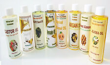 100% ORGANIC PURE NATURAL CARRIER OILS COLD PRESSED 8.5oz  FREE SHIP