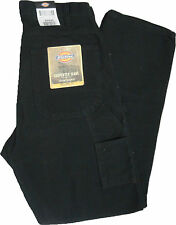 Dickies  Black Duck Relaxed Fit Carpenter Work Jeans 1939RBK  W 32 to W 44