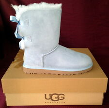 "UGG AUSTRALIA WOMENS BOOTS ""BAILEY BOW"" NIB HORIZON BLUE  ALL  SIZES FREE SHIP"