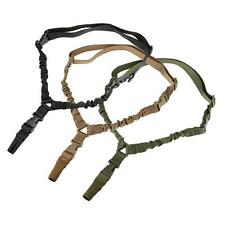 Tactical 1 One Single Point Sling System Strap Bungee Rifle Gun Sling QD Buckle
