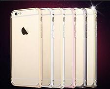 Luxury Ultra Slim Metal Frame Bumper Case Cover for Apple iPhone 5 5S 6 6S PLUS