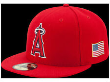 Official 2016 MLB 9-11 Los Angeles Angels of Anaheim New Era 59FIFTY Fitted Hat