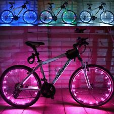 Bike Bicycle Cycle Tire Wheel Valve 2Mode LED Flash Spoke Light Waterproof Safty