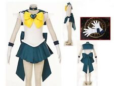 Sailor Moon Sailor Stars Sailor Uranus Cosplay Costume NEW