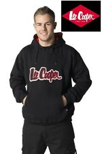 New Mens Lee Cooper Fleece Hoody Jacket Sweatshirt Hooded Top Warm Pullover