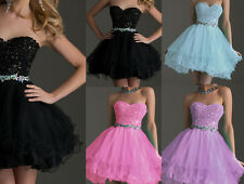 Short MiniBridesmaid Dress FormalCocktailParty Prom Dresses Evening Ball Gown
