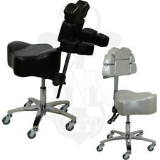 Tattoo Adjustable Ergonomic Ink Stool Chair Chest Rest InkBed Studio Equipment