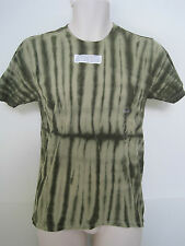 Mens GAP Green Tie Dye Short Sleeve Crew Neck T-shirt Size Small NWT