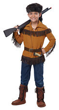 Thanksgiving Western Davy Crockett Frontier Pioneer Daniel Boone Child Costume