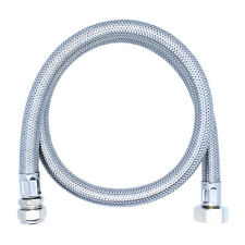 "(ONE or PAIR) FLEXIBLE HOSE TAP CONNECTOR 3/4"" x 15mm 900mm Long Tube BASIN SINK"