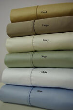 Queen Solid 1200Thread count Sheet Set 100% Egyptian cotton !