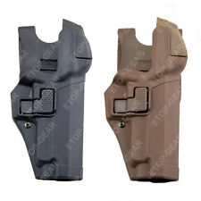 Tactical Right Hand Waist Belt LEVEL 3 Lock Duty Holster for SIG SAUER P226 P229
