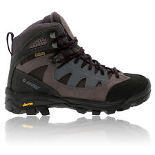 Hi-Tec Womens Maipo Grey Purple Waterproof Trail Walking Hiking Boots Shoes