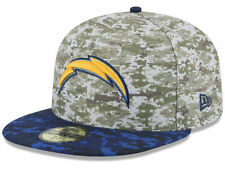 Official 2015 San Diego Chargers New Era 59FIFTY Hat NFL Salute to Service