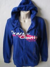ROXY Women's Blue ORANGE COUNTY Full Zip Sweat Jacket Size Medium NWT