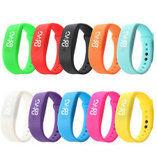 Men Womens Date Sports Watches Rubber LED Watches Bracelet Digital Wrist Watch