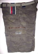 NWT Mens UNIONBAY Camo Green Cargo Shorts Sizes 34,36,38