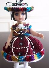 """HANDMADE CLOTHING & ACCESSORIES FOR 10"""" PATSY DOLLS & FRIENDS, 5 yrs +"""