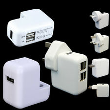 Portable1/2/4 USB Port Wall AC Power Charger Adapter Travel With SAA AU EU plug