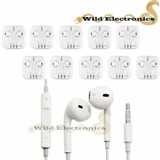 Fit iPhone 6 Plus SE 5 5s Earphone Earbud Headset w/ Volume Control Mic 10 set