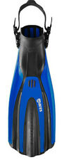 Mares Plana Avanti SuperChannel Open Heel Scuba Diving Dive Fins - Blue