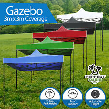 NEW PERFECT OASIS 3x3 GAZEBO PARTY EVENT MARKET TENT SHADE CANOPY Pop Up Folding