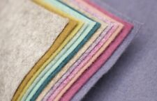 Felt Wool Mix Squares 30 cm x 30 cm Vintage Colours
