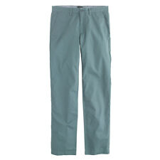 J.Crew Pants Mens Urban Slim Fit Lightweight Trousers Flat Front Cotton Chinos