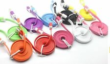 2M Noodle Micro USB Data Sync Cable Charger Cord for Samsung  I9100 I9300 I9500