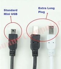 USB Type-A Male to Mini-B 5 Pin Cable Extra Long Plug V3 Lead For MP3 MP4 MP5