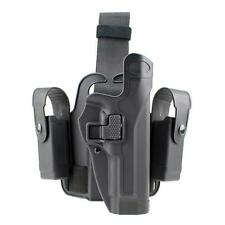 Tactical Level 2 Right Drop Leg Thigh Pistol Holster Mag Pouch f/ Beretta M9 M92