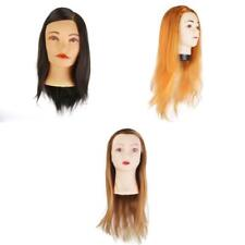 VARIOUS Hair Salon Practice Training Head Hairdressing Mannequin cosmetology NEW