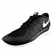 Nike Mens Free Run 5.0 Premium Running Shoes Trainers Black AUTHENTIC