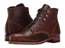 New Women's WOLVERINE 1000 Mile W05454 Brown Original Leather Boots MADE IN USA