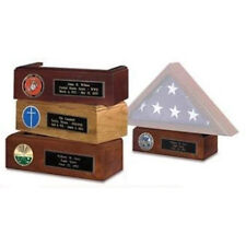 American Made Pedestal For Display Flag Shadow Box Hand Made By Veterans