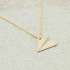 Silver Plated/18K Gold Plated Harry Styles One Direction Plane Airplane Necklace