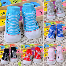 Cute Toddler Infant Warm Indoor Newborn Comfy Cotton Boots Baby Sole Shoes Socks